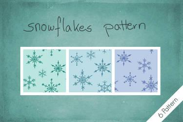 Snowflakes Pattern by byjanam