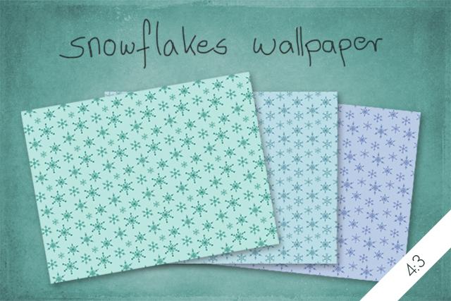Snowflakes Wallpaper by byjanam