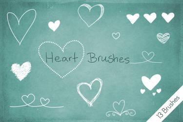 Heart Brushes