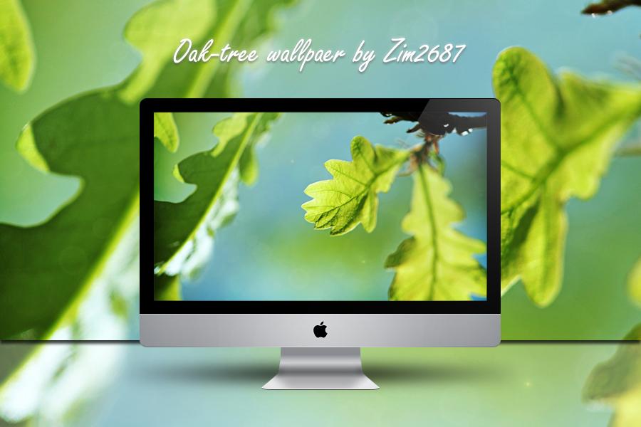Oak-tree wallpaer by Zim2687