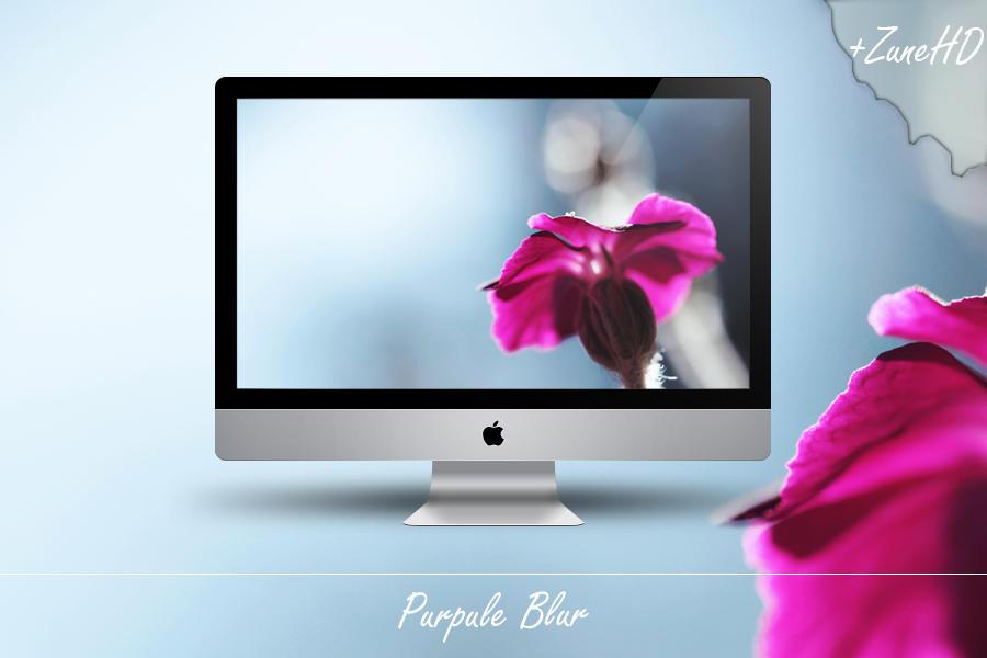 Purpule Blur by Zim2687