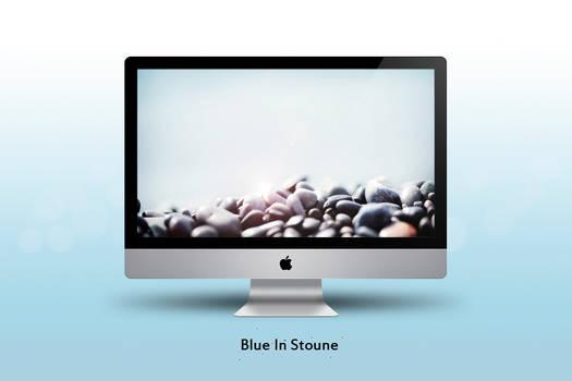 Blue In Stone