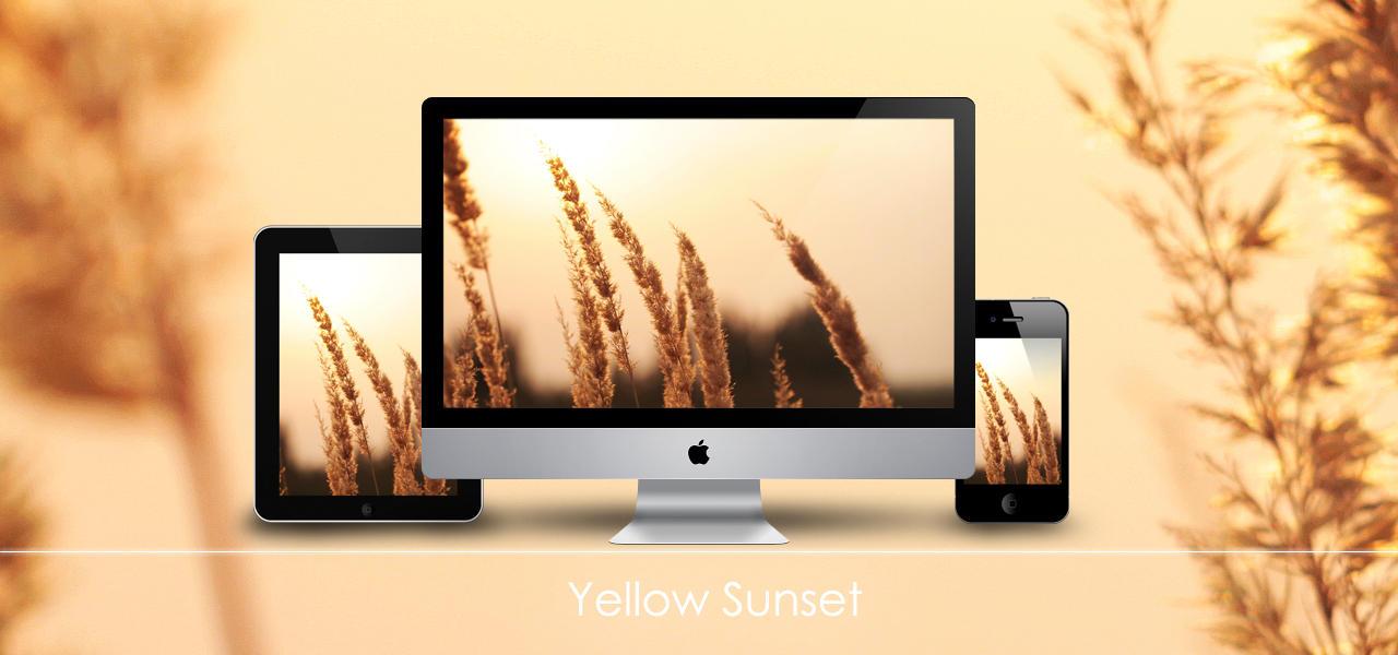 Yellow Sunset by Zim2687