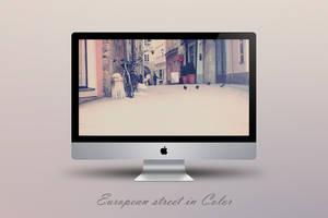 European street in color by Zim2687