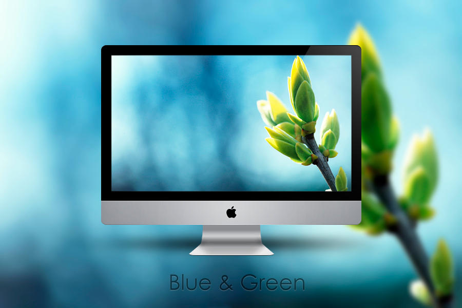 Blue and Green Nature Wallpaper Pack