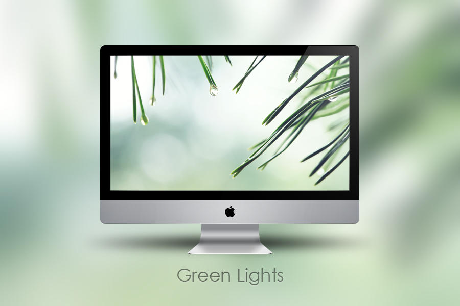 Green Lights by Zim2687