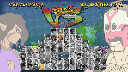 Street Fighter Destiny - Character Select Jam