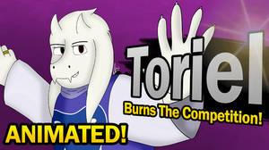 Toriel for Smash! ANIMATION Splash Screen