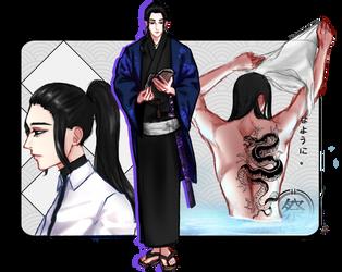 SYN: Takeuchi, Kouhei by jiunnie