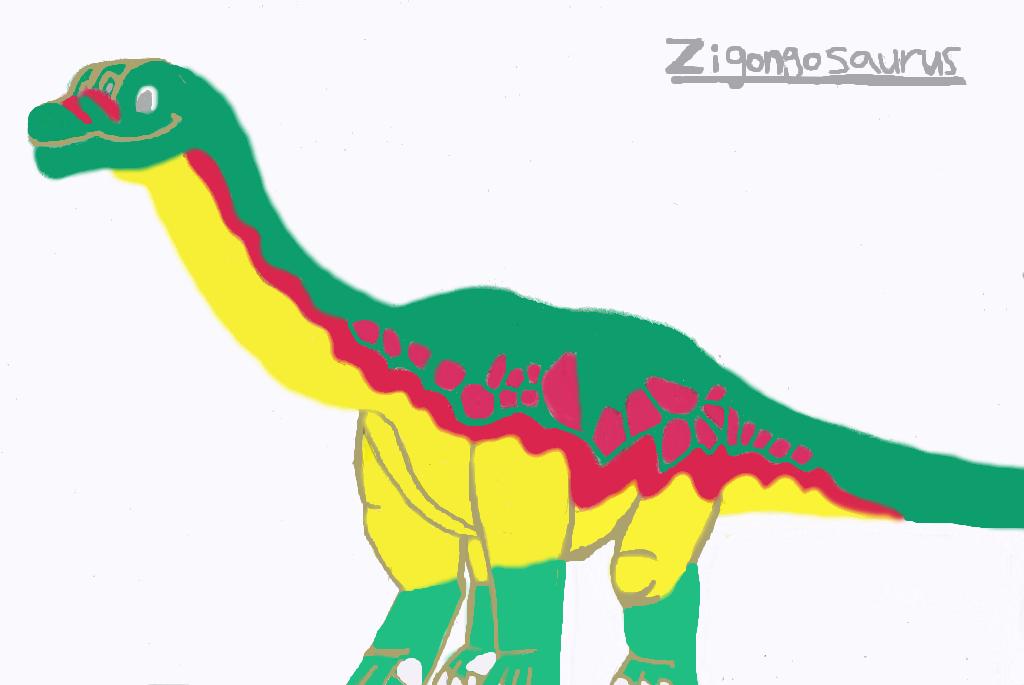 Zigongosaurus 2 by tcr11050 on DeviantArt
