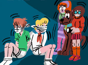 Scooby Doo Bound and Gagged