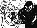 Bear vs Sasquatch by tcr11050