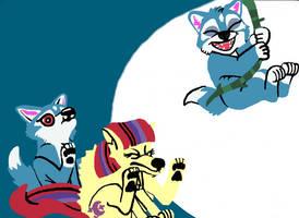 Moondancer and Feifei
