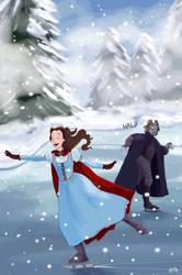 Rumbelle- Christmas 2014 by snoprincess