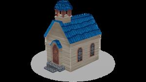 Low poly church