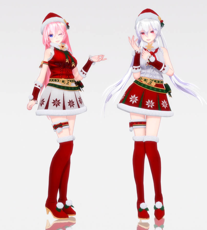 Christmas Queens.2018 X Mas Tda Christmas Queens Dl Now By Yukiyame On