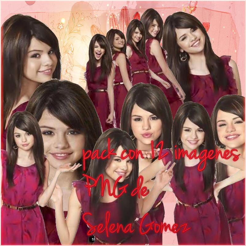 pack png de Selena Gomez by divinizima