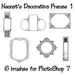 Naunet's Decorative Frames 1