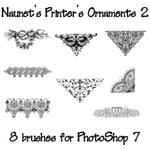 Naunet's Printers Ornaments 2