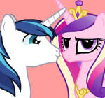 Shining Armor and Cadence flash puppet release by SunBusting