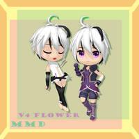 [MMD]Chibi V4 Flower .:Download:. by KawaiiNeko28