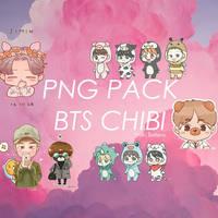 BTS CHIBI -PNG-PACK