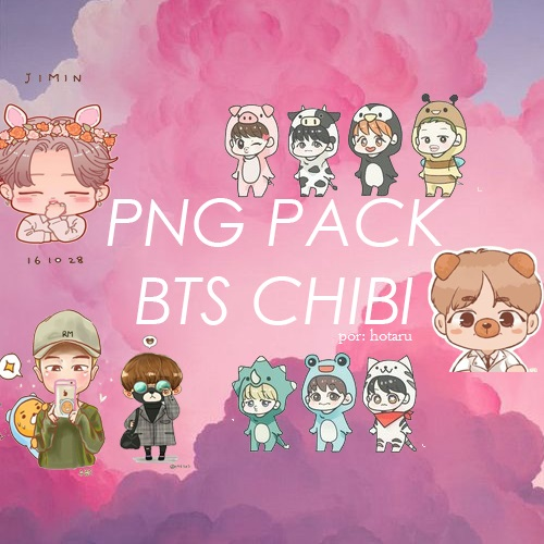 bts chibi png pack by hotaru0 on deviantart notepad clipart transparent background notepad clip art transparent
