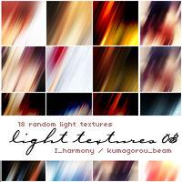 18 random light textures
