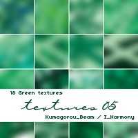 18 Green Textures by KumquatsLair
