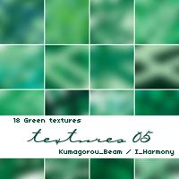 18 Green Textures by KumquatsLair