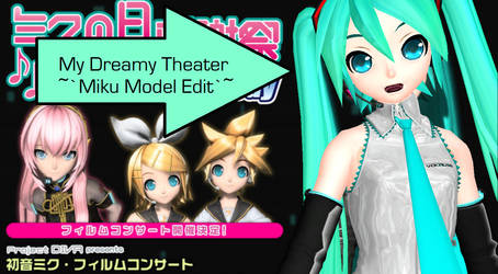 MMD Dreamy Theater Miku download