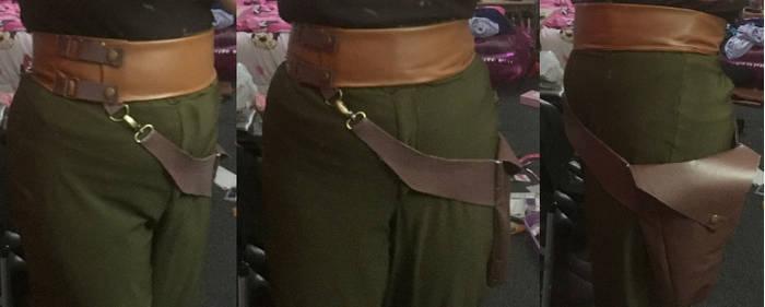 Helga Sinclair Cosplay: Belt and Gun Holster