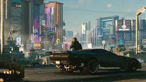 Cyberpunk 2077 Night City Day