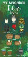 My Neighbor Totoro Icons