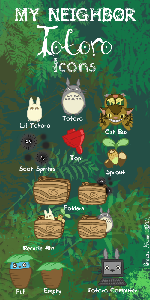 My Neighbor Totoro Icons