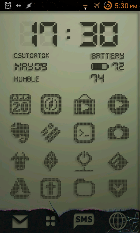 Indium Tinoxide icons