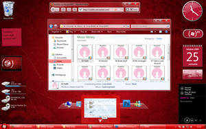 Win7 Product Red Visual style by nullz0rz