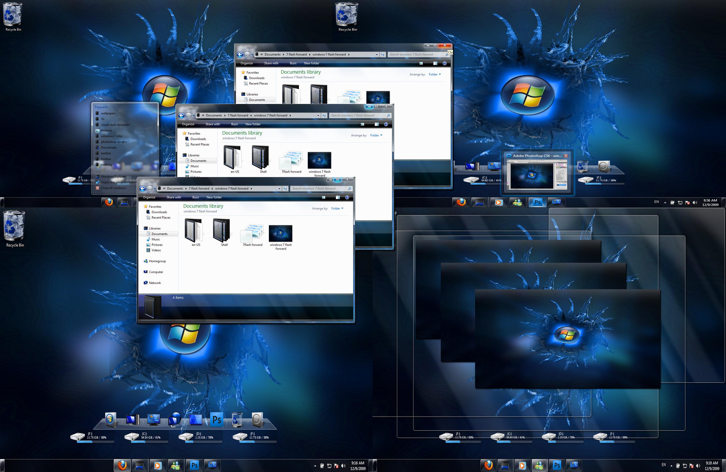 Windows 7 Flash Forward