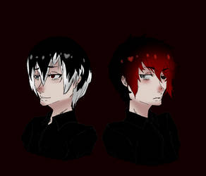 Haise And Akaneki GIF by all-but-nothing