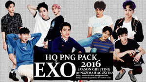 Png Pack Exo 2016 Season Greeting