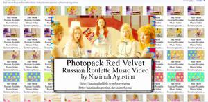 Red Velvet Russian Roulette Music Video Screencaps