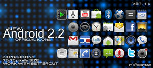 Android 2.2 Official Icons