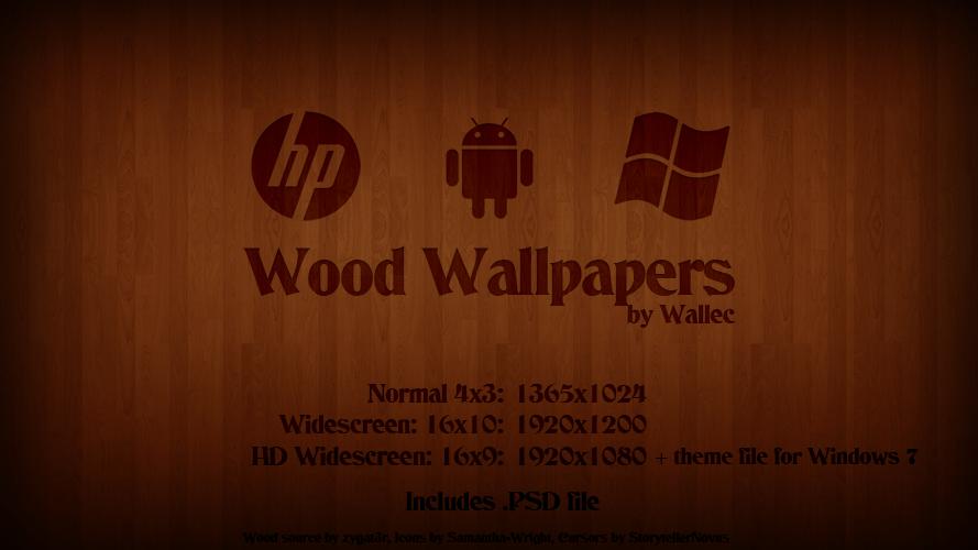 Wood Wallpaper by wwalczyszyn