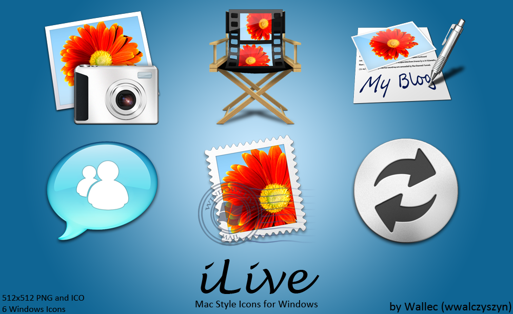 Mac Style Windows 7 Icon Set 2 For Windows Live