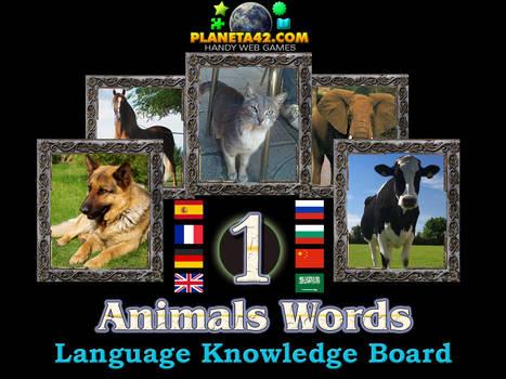 Animals Words