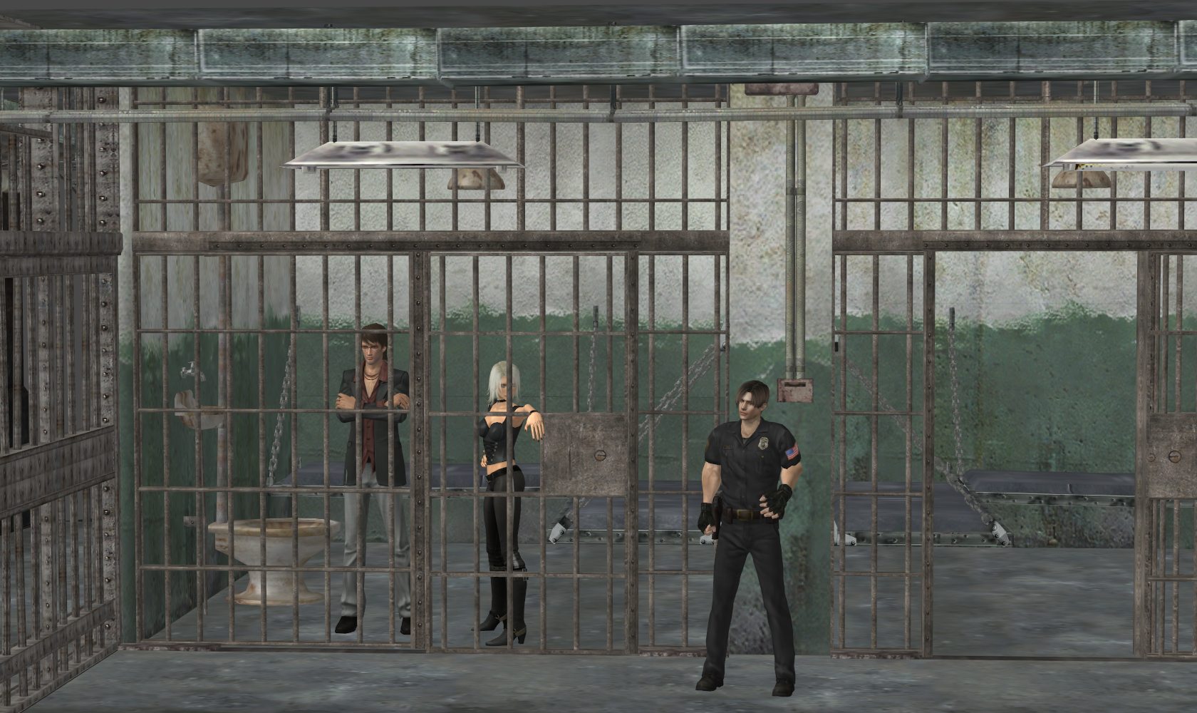 Make A Sliding Door In Gmod: Jail (Re-Updated XPS) By Bstylez On