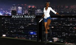 Anaya Imanu Casual Shorts