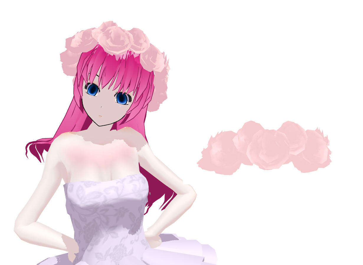 MMD Tiara of roses Download by 9844
