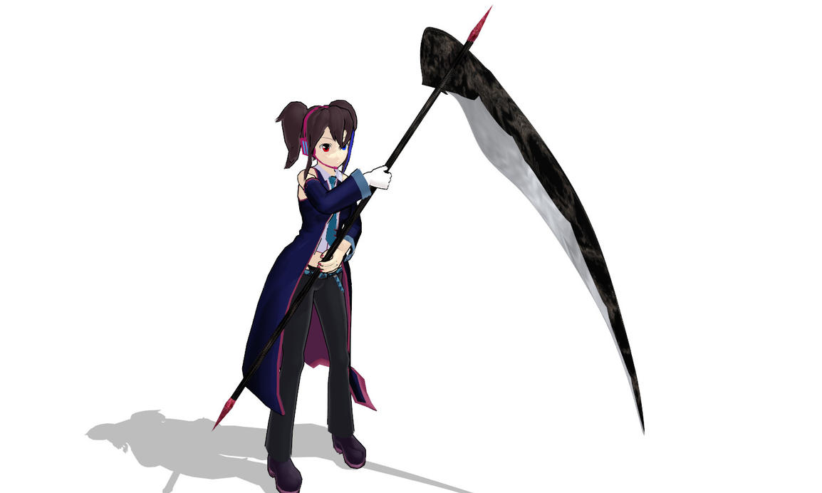 Mmd evil scythe download by 9844 on deviantart - Anime scythe wallpaper ...
