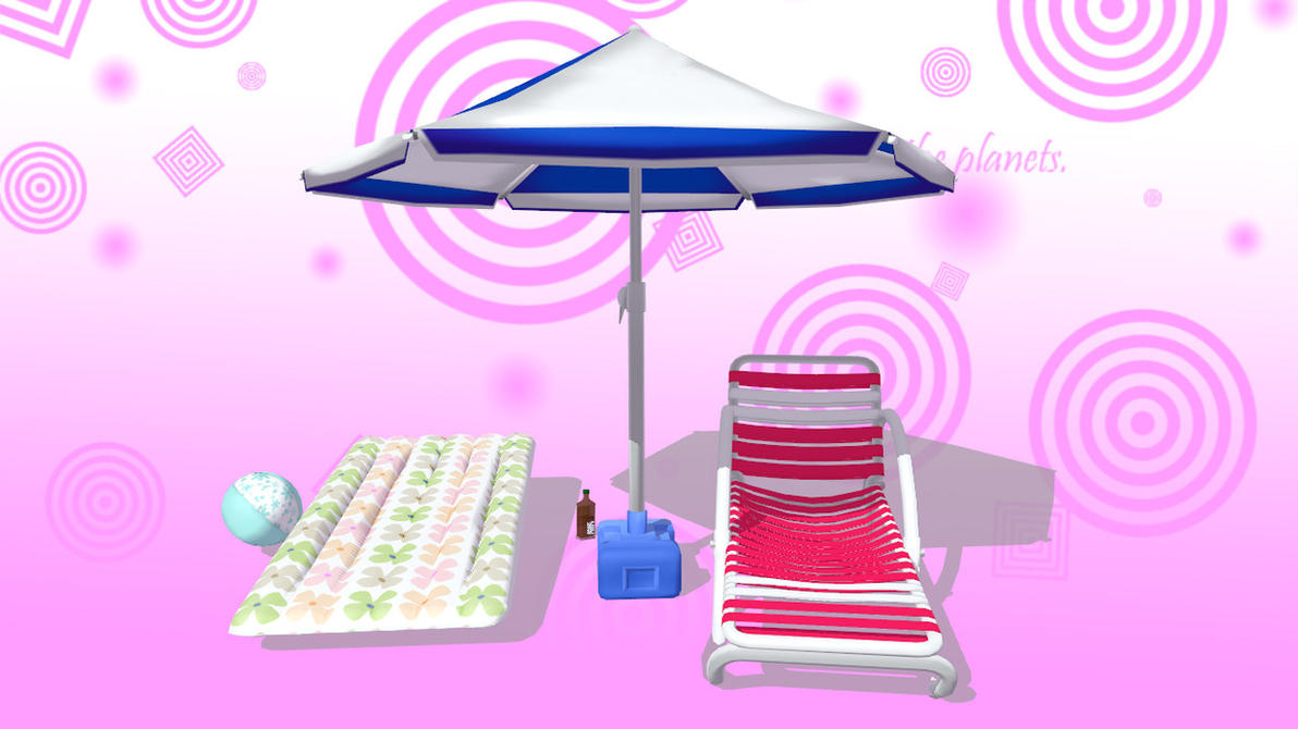 MMD Beach pack Download by 9844